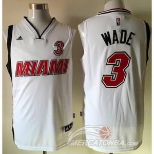 Maglie Basket Wade Miami Heats Bianco