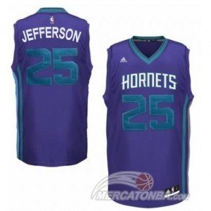 Canotte Basket Hornets Jefferson New Orleans Hornets Purpura