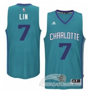 Canotte Basket Retro Lin New Orleans Hornets Verde