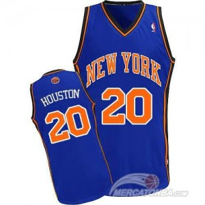 Maglie Basket Houston New York Knicks Blu