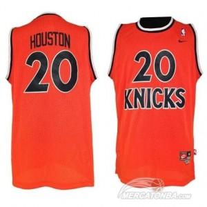 Canotte NBA Rivoluzione 30 Houston New York Knicks Arancione