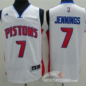 Maglie Basket Jennings Detroit Pistons Bianco