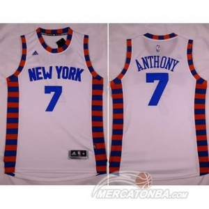 Maglie Shop Anthony New York Knicks Bianco