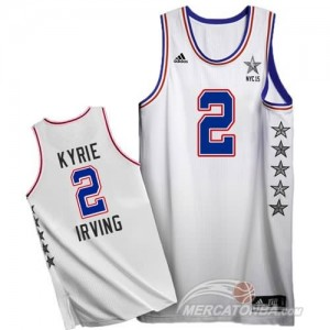 Canotte NBA Kyrie All Star 2015 Bianco