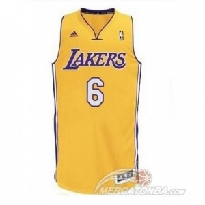 Maglie Shop Clarkson Los Angeles Lakers Giallo
