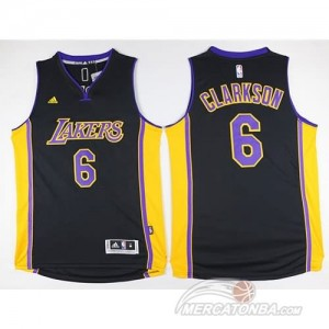 Maglie Shop Clarkson Los Angeles Lakers Nero