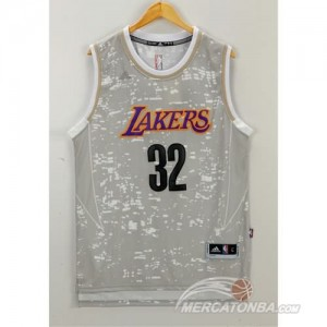 Canotte Basket Luces Lakers Johnson Grigio