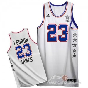 Canotte NBA Lebron All Star 2015 Bianco