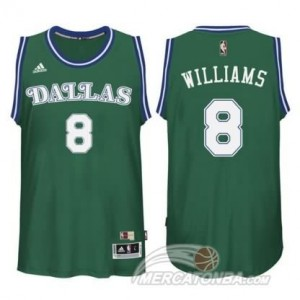 Maglie Basket Williams Dallas Mavericks Verde