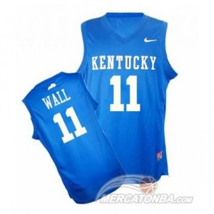 Canotte Basket NCAA Kentucky John Blu