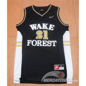 Canotte Basket NCAA Wake Forest Duncan Nero