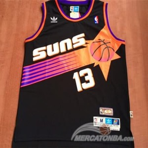 Maglie Basket Nash Phoenix Suns Nero