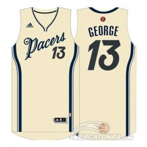 Maglie Shop George Christmas Indiana Pacers Bianco