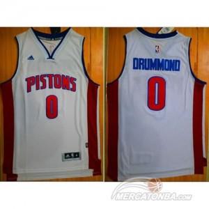 Maglie Shop Drummond Detroit Pistons Pistons Bianco