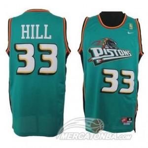 Maglie Basket Hill Detroit Pistons Verde