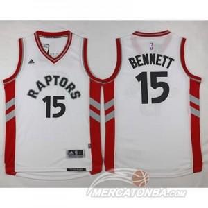 Maglie NBA Bennett Toronto Raptors Bianco