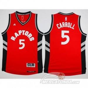 Maglie NBA Carroll Toronto Raptors Rosso