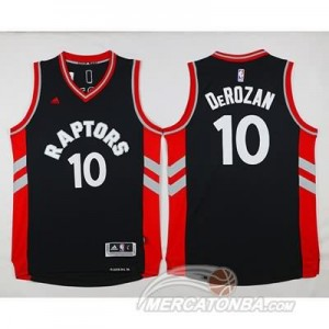 Maglie NBA Derozan Toronto Raptors Nero