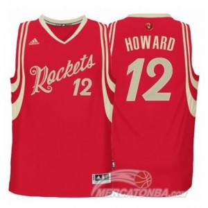 Maglie Basket Howard Christmas Houston Rockets Rosso