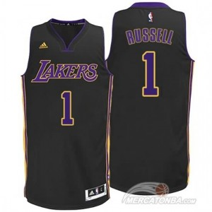 Maglie Basket Russell Los Angeles Lakers Nero