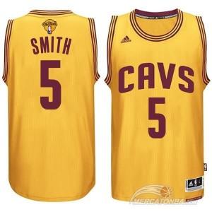 Canotte NBA Rivoluzione 30 Smith Cleveland Cavaliers Giallo