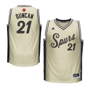 Maglie Shop Duncan Christmas San Antonio Spurs Bianco