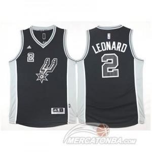 Maglie Basket Leonard San Antonio Spurs Nero