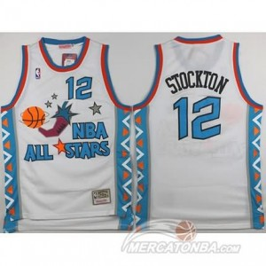 Canotte NBA Stockton All Star 1996