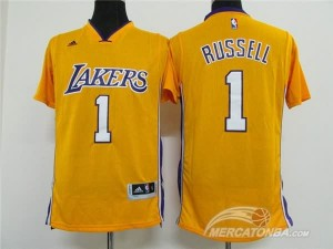 Canotte NBA Russell Giallo