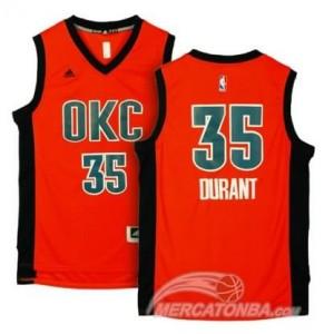 Maglie Shop Durant Oklahoma City Thunder Arancione