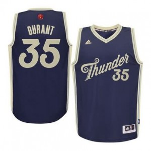 Maglie Shop Durant Christmas Oklahoma City Thunder Blauw