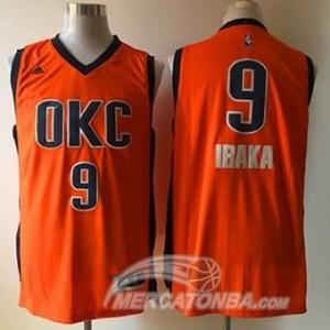 Maglie Basket Ibaka Oklahoma City Thunder Arancione