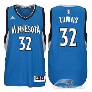 Maglie Basket Towns Minnesota Timberwolves Blu