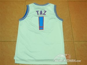 Canotte NBA Tunesquad Taz Bianco