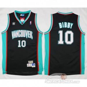 Maglie Basket Retro Vancouver Bibby Memphis Grizzlies Nero