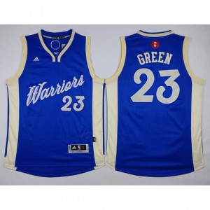 Maglie Shop Green Christmas Golden State Warriors Blauw