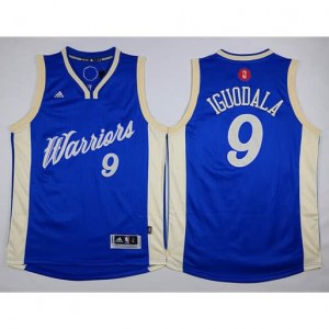 Maglie Basket Iguodala Christmas Golden State Warriors Blauw