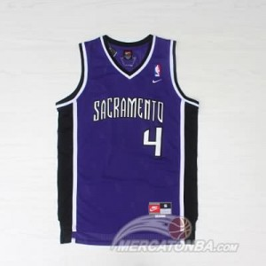 Maglie Basket Webber Sacramento Kings Porpora