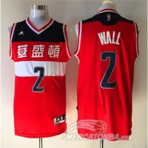 Maglie Basket Wall Washington Wizards Rosso