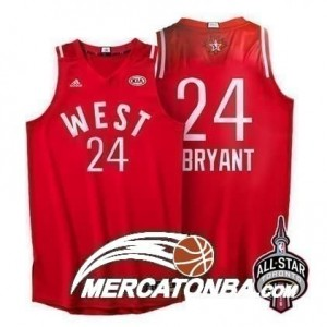 Canotte NBA Bryant All Star 2016 Rosso