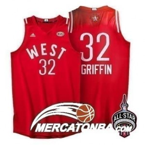 Canotte NBA Griffin All Star 2016 Rosso