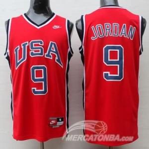 Canotte Jordan USA 1984 Rosso