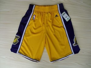 Pantaloni NBA Los Angeles Lakers Giallo