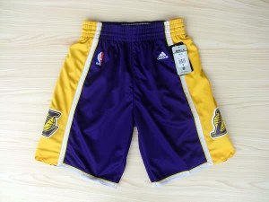 Pantaloni NBA Los Angeles Lakers Porpora