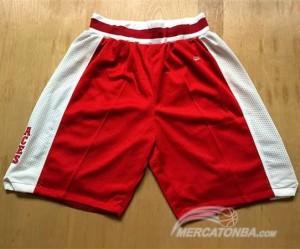 Pantaloni NBA Lower Merion Rosso