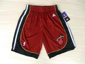Pantaloni NBA Miami Heats Rosso