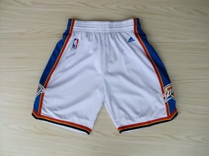 Pantaloni NBA Oklahoma City Thunder Bianco